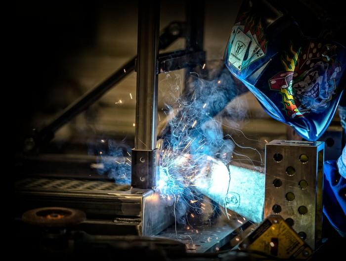 slide-welding